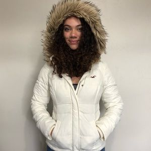 HOLLISTER Cozy-lined Down winter coat